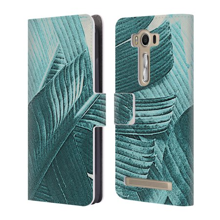 Official Vin Zzep Tropical Leather Book Wallet Case Cover For Asus Zenfone Phones