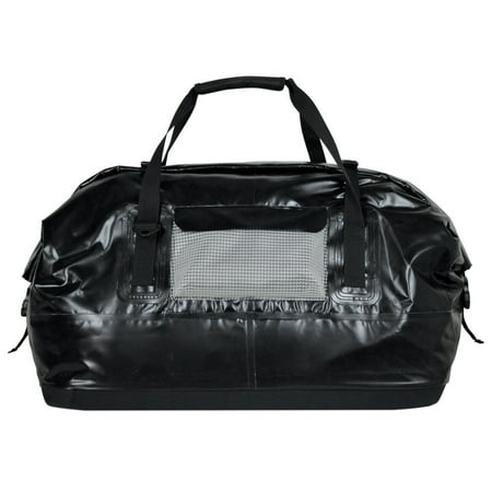 Extreme Max 3006.7339 Dry Tech Water-Resistant Roll-Top Duffel Bag - 110 Liter, Black River Dry Duffel