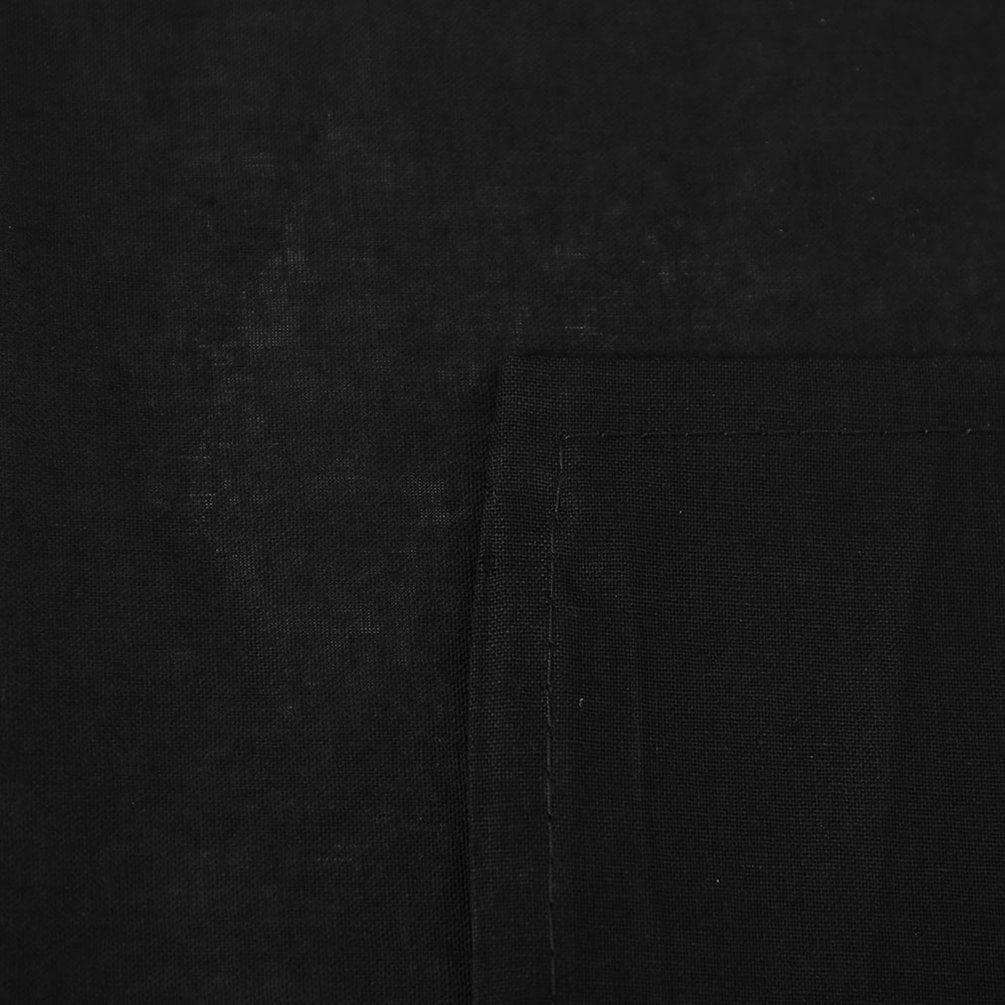 3 6m Photography Studio Background Black Screen Cotton Muslin