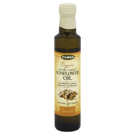Flora Flora Hydro-Therm Sunflower Oil, 8.5 oz