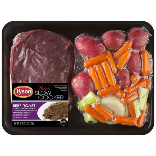 Tyson Beef Roast with Vegetables, 62 oz