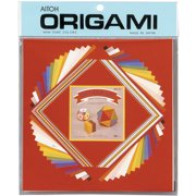 Origami Paper 60 Sheets-Assorted Colors & Sizes