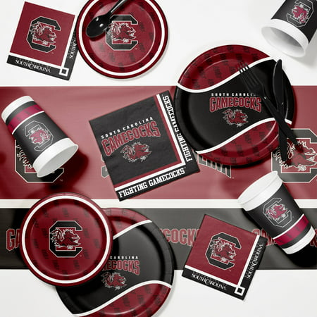 University of South Carolina Game Day Party Supplies Kit - University Of Alabama Party Supplies
