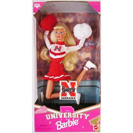 Nebraska Cornhuskers University Barbie Cheerleader - image 1 of 1