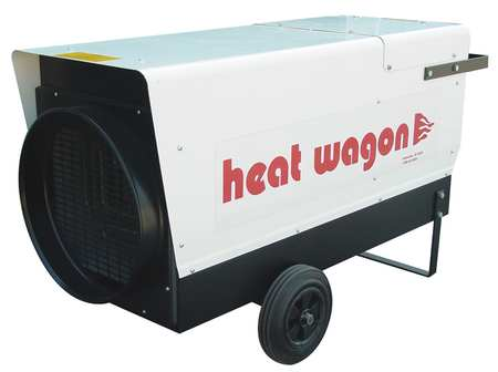 HEAT WAGON 24000 48000 60000W Electric Salamander Heater, Fan Forced, 480V, P6000 by HEAT WAGON