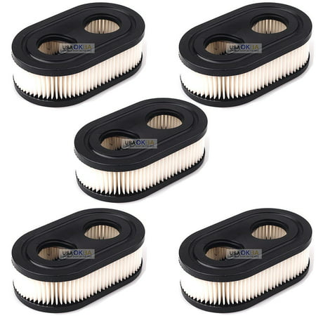 Okeba 5x Air Filter for Briggs & Stratton 798452 593260 5432 5432K 09P702 Oregon 30-168