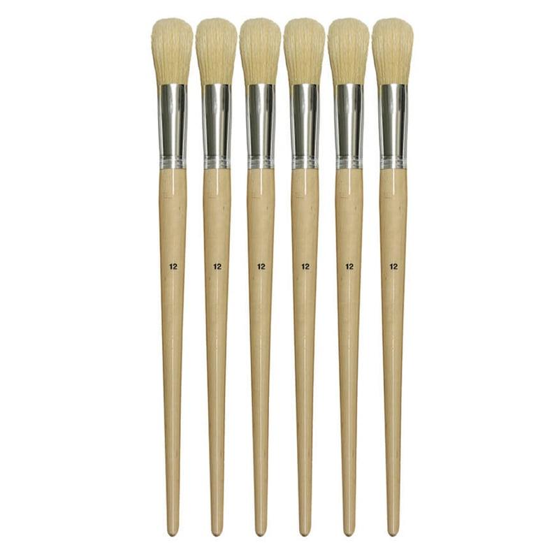 ChenilleKraft No. 12 Round Bristle Brush Set