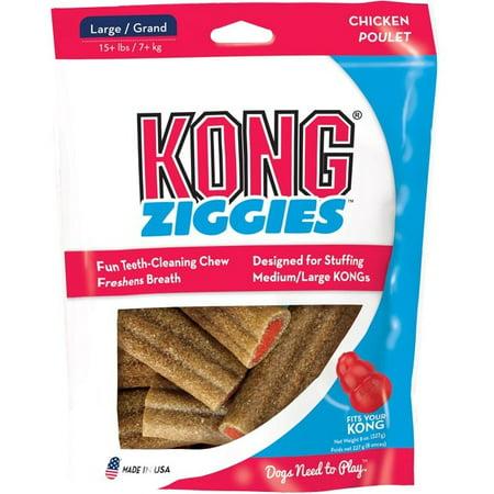KONG Ziggies, Large, 8oz