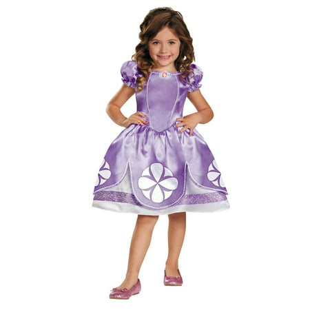 Halloween Costumes For Pale People (Pale Purple Sofia the First Girl Toddler Halloween Costume -)