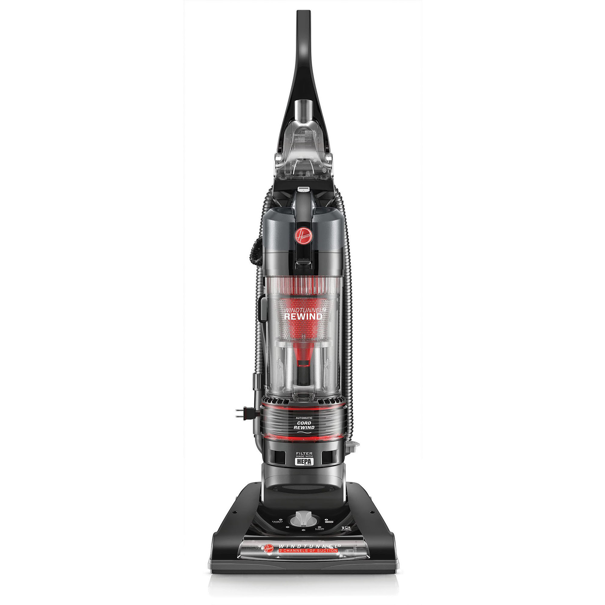 Hoover WindTunnel 2 Rewind Bagless Upright Vacuum, UH70821PC