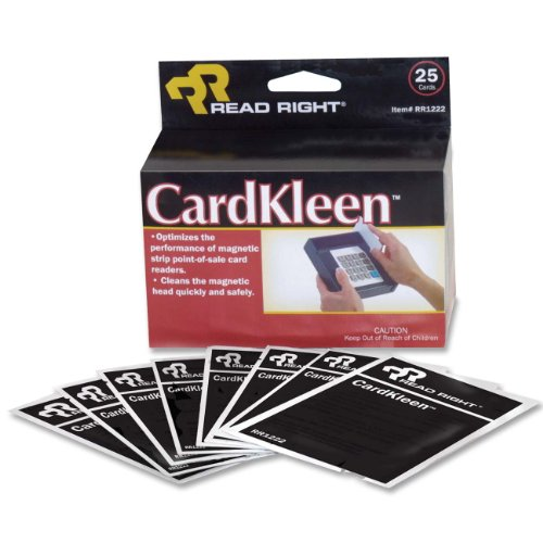 Read Right Cleaning Card - Magnetic Card Readernon-abrasive (RR1222)