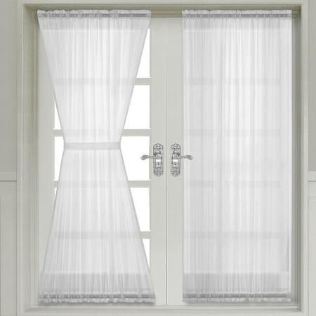 Sheer Door Curtain Panels 50