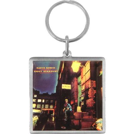 David Bowie Ziggy Stardust Costume (David Bowie Ziggy Stardust Metal Key Chain)