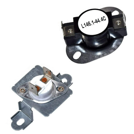 hqrp dryer thermostat thermal fuse kit for inglis. Black Bedroom Furniture Sets. Home Design Ideas