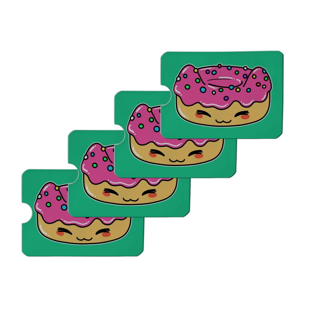 Cute Food Zip Pouch Kawaii Donuts Makeup Bag
