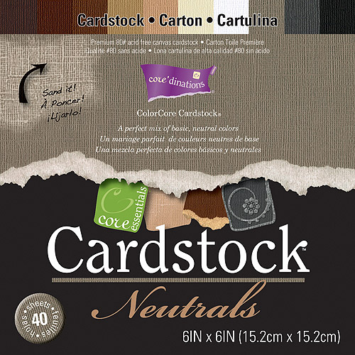 Core'dinations Cardstock Pack