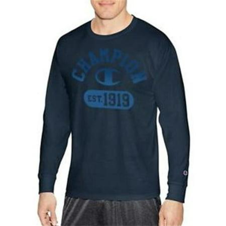 4c4d19f3 Champion Men's Athletic - Champion Men's Classic Jersey Long Sleeve Graphic  T-Shirt, Gym Fade V2/Navy, - Walmart.com