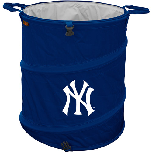 "Logo Chair MLB  New York Yankees 16.5"" x 19"" Trash Can Cooler"