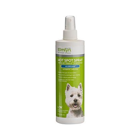 Tomlyn Allercaine with Bittran II Antiseptic Spray 12 oz - Pack of 2