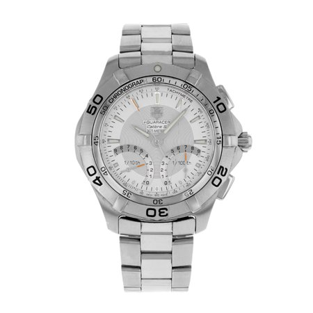 New TAG Heuer Aquaracer Calibre S CAF7011.BA0815 Stainless Steel Quartz Men's Watch