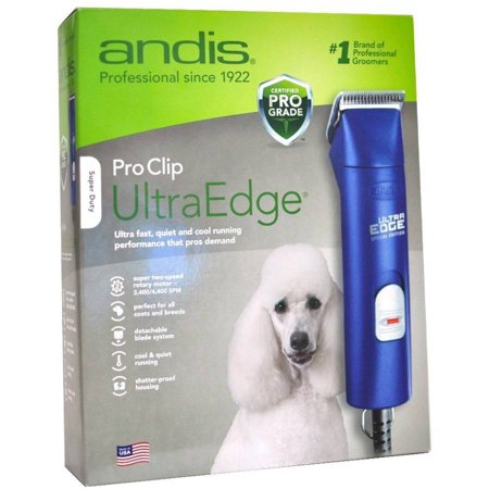 Andis ProClip UltraEdge Pet Clipper, Blue