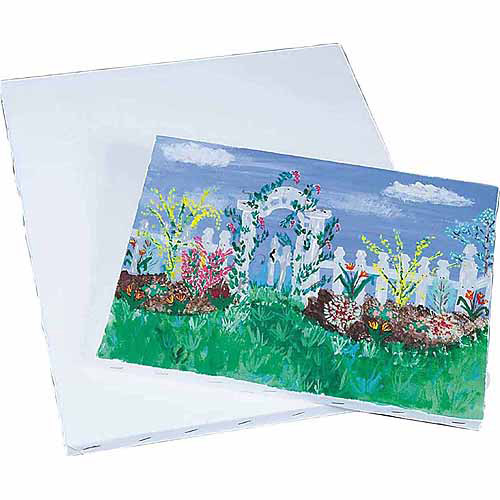 "Prestretched Canvas, 16"" x 20"", Pack of 2"