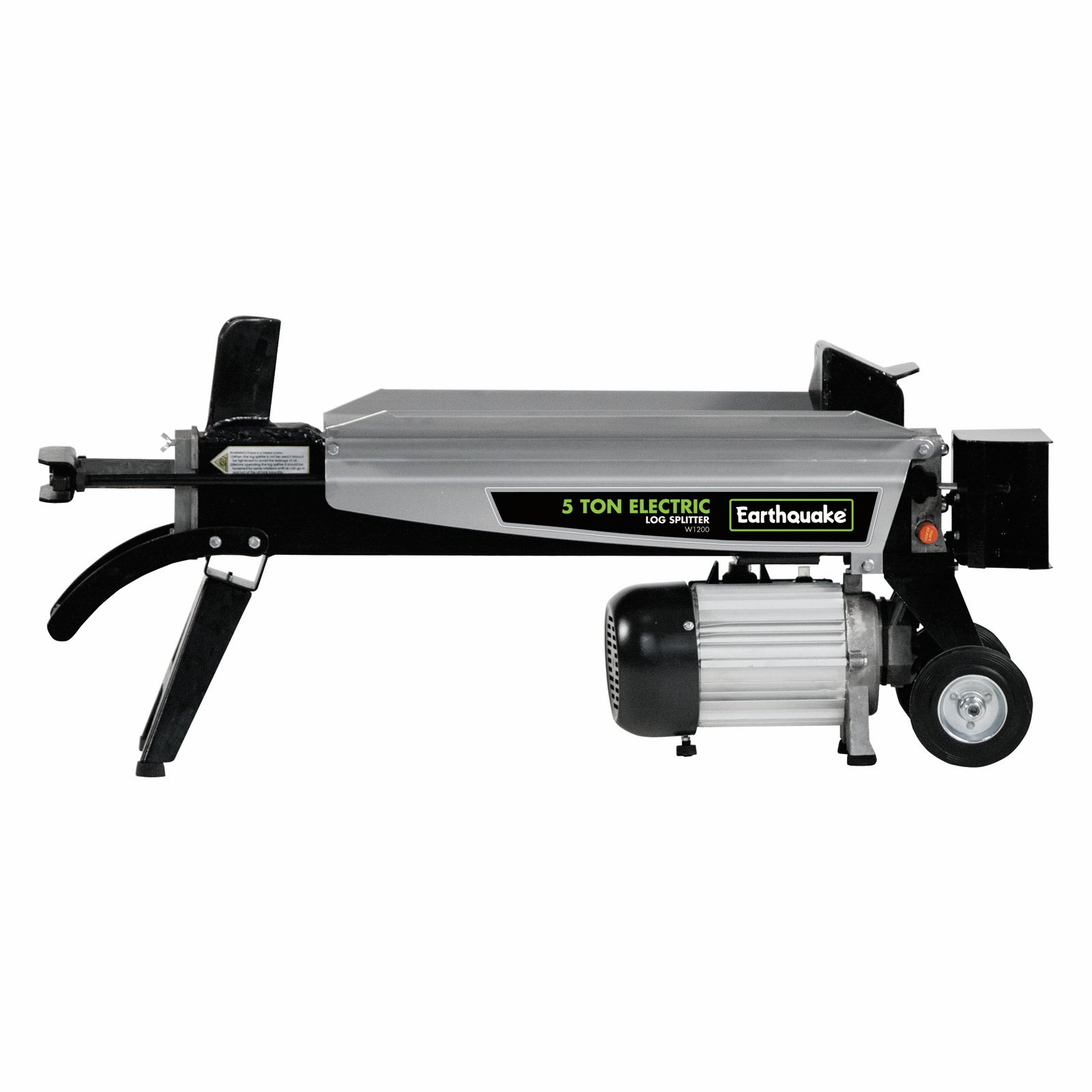 Earthquake W1200 Compact 5-Ton Electric Log Splitter, Silver by Ardisam Inc