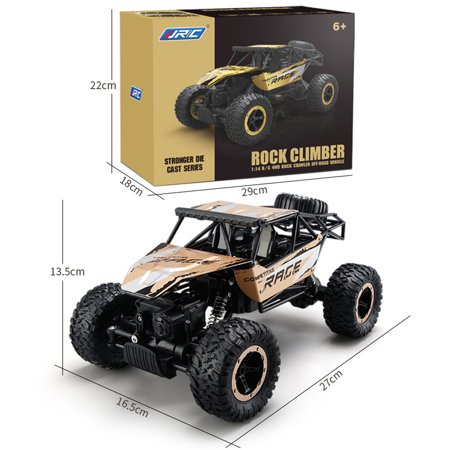 Gold Blue 2 4g 1 14 Fast Race Cars Four Wheel Drive Car Absorber Electric Remote Control Off Road Vehicle