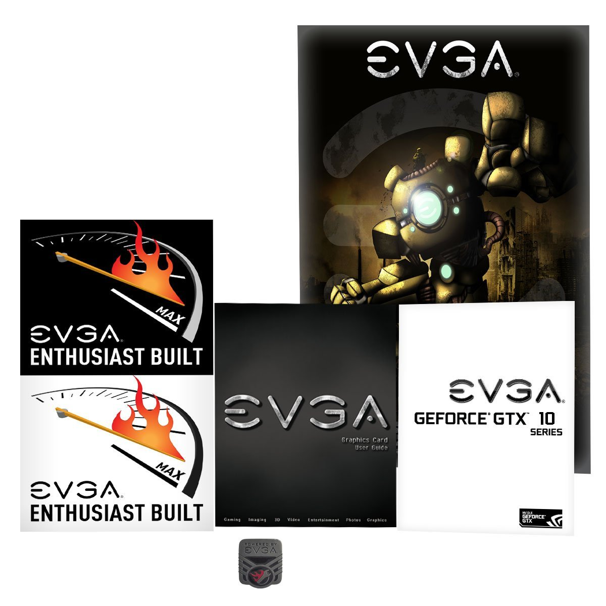 EVGA NVIDIA GeForce GTX 1080 8GB PCI Express 3.0 Graphics Card by EVGA