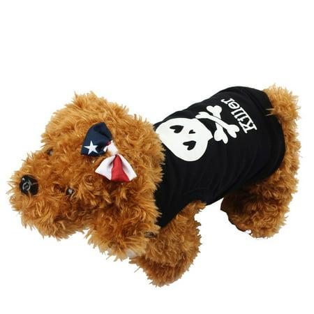 Summer Small Pet Dog Cat Shirt Vest Printed Puppy T-Shirt Coat Apparel