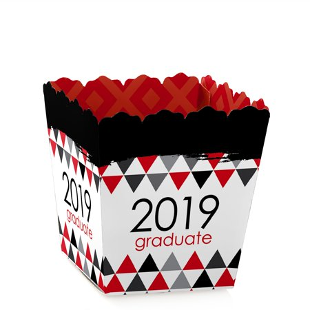 Red Grad - Best is Yet to Come - Party Mini Favor Boxes - Red 2019 Graduation Party Treat Candy Boxes - Set of (Best Tennis Bags 2019)