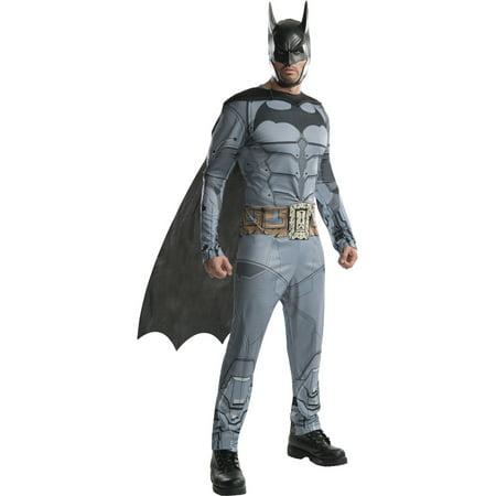 Adult Mens Batman DC Comics Arkham City Origins Asylum Costume (Party City City Costumes)