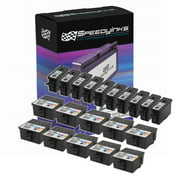 Speedy Compatible Cartridge Replacement for Kodak #10B & Kodak #10C (10 Black, 10 Color, 20-Pack)