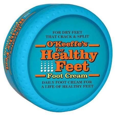 O'Keeffe's pour les pieds en bonne santé quotidien Crème Pieds 2,70 oz (Lot de 3)
