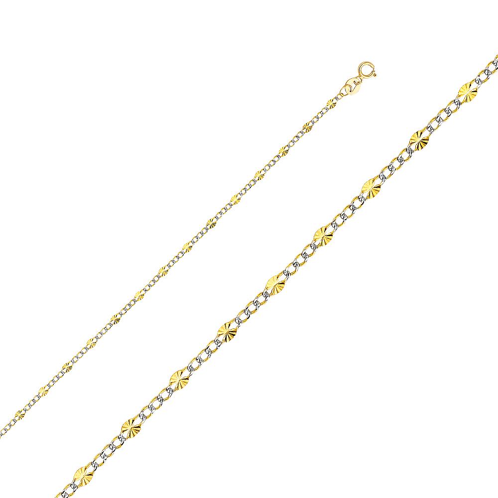 Jewels By Lux 10K Yellow Gold Chai Cut Out Pendant