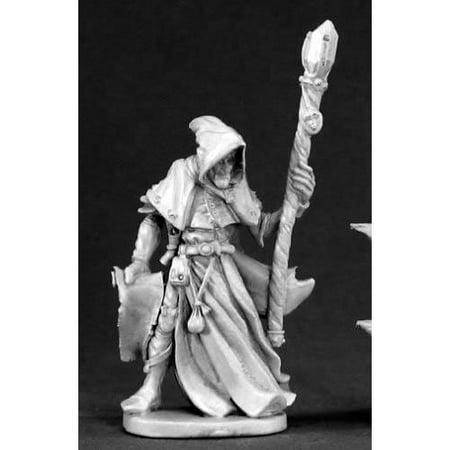 Satheras Elf Warlock Miniature 25mm Heroic Scale Dark Heaven Legends Reaper Miniatures ()