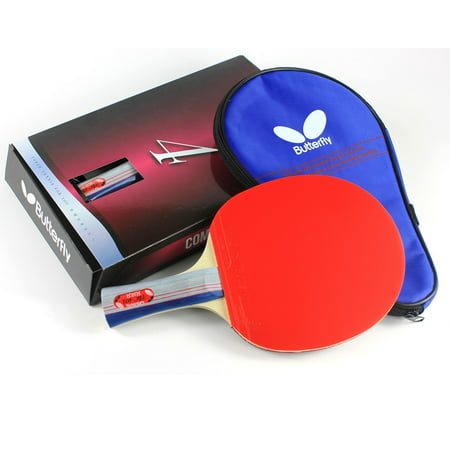 Butterfly 401 Table Tennis Racket Set - 1 Ping Pong Paddle – 1 Ping Pong Paddle Case - Gift Box - ITTF