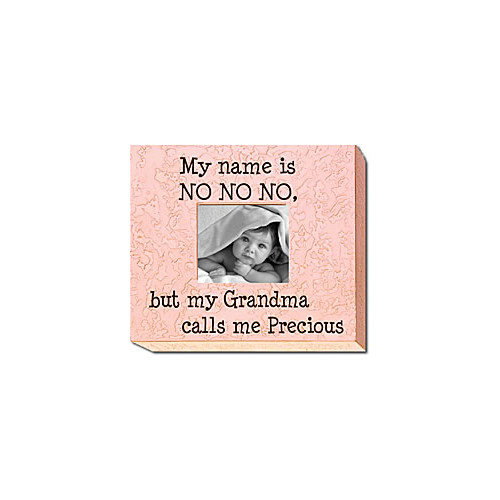 Forest Creations My Name Is No No No... Child Frame