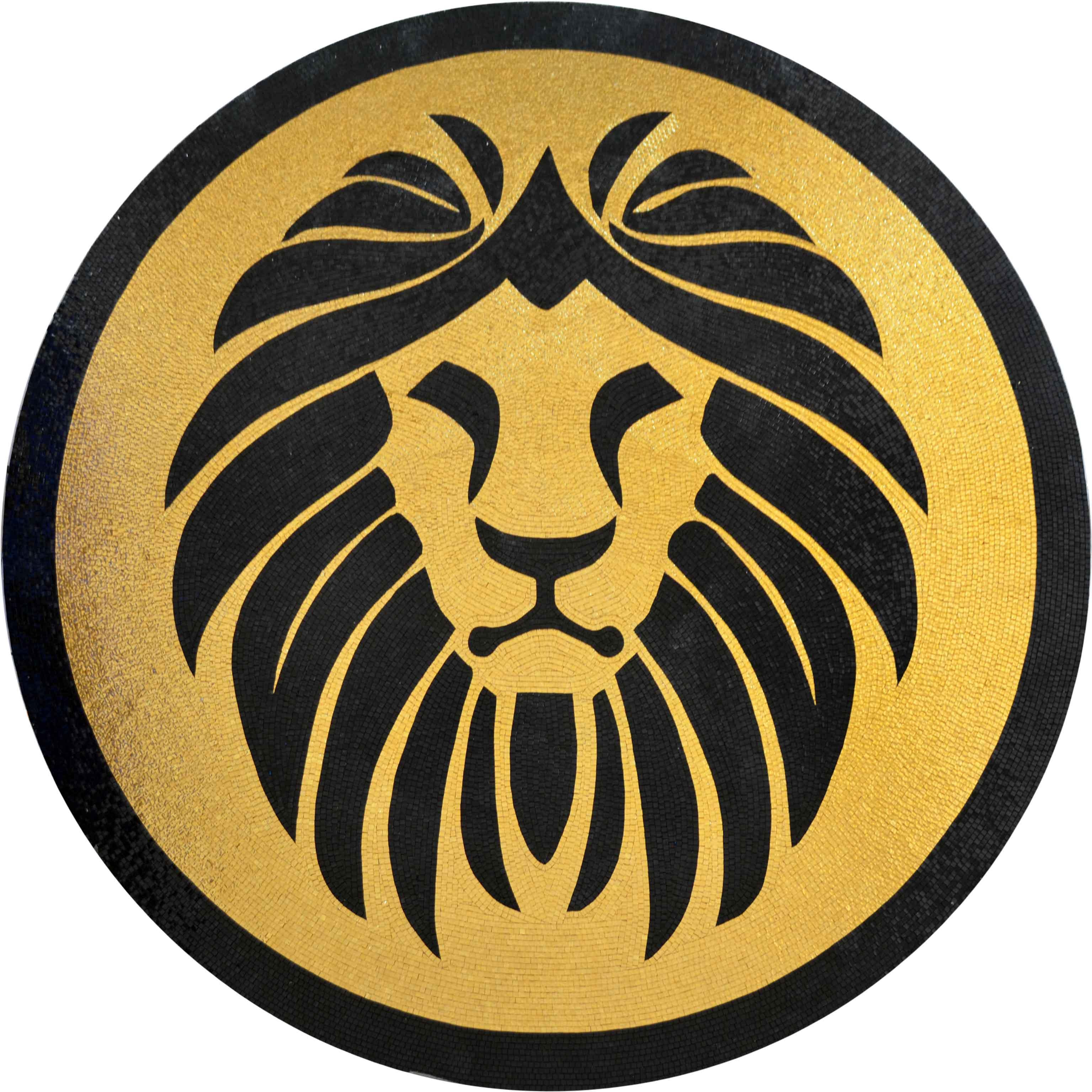 Mozaico Mosaic Designs - Lion Head