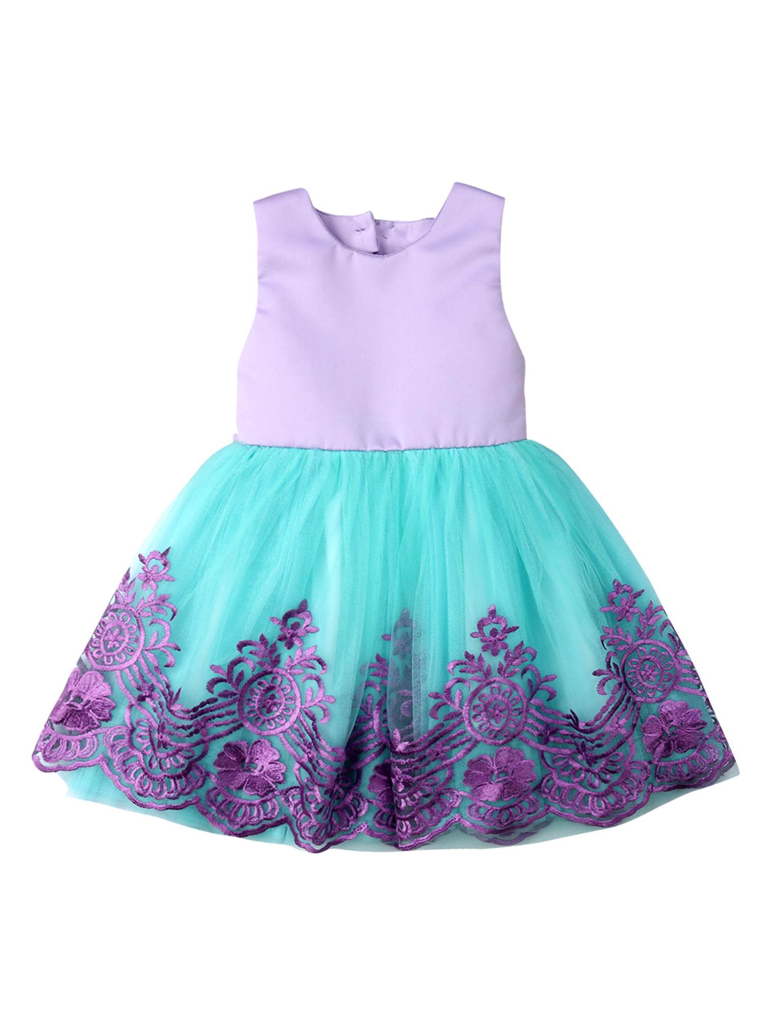 Matoen Toddler Baby Girls Dress Tassels Print Tutu Princess Party Beach Skirt