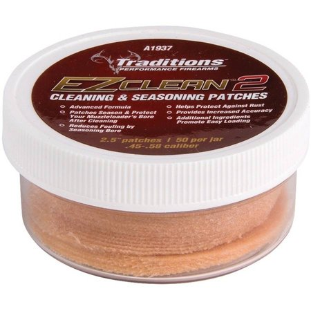 Traditions Cleaning Patches - Traditions Performance Firearms Cleaning and Seasoning Patches