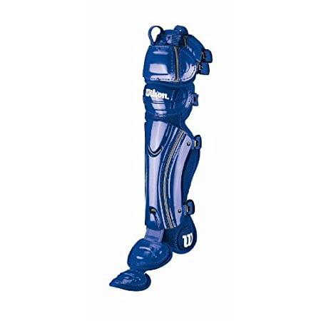 Fastpitch Catchers Gear - Wilson Fastpitch Pro Stock FX softball catchers gear leg guards Royal 3570 16