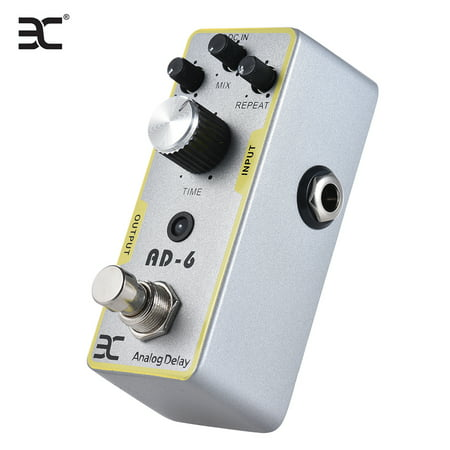 ENO EX AD-6 Electric Guitar Analog Delay Effect Pedal Full Metal Shell True Bypass - image 5 de 5