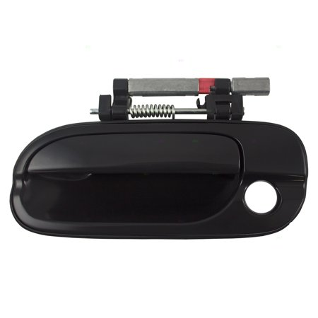 Drivers Front Outside Exterior Door Handle w/ Keyhole Replacement for Nissan Sentra (Handle Assy Front Door)