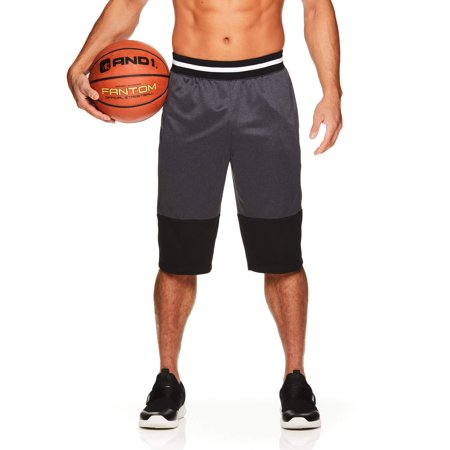 - AND1 Men's French Terry Basketball Shorts