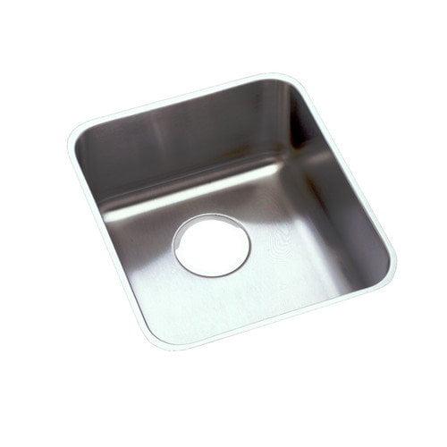 Elkay Lustertone 13'' x 16'' Undermount Single Bowl Sink Set