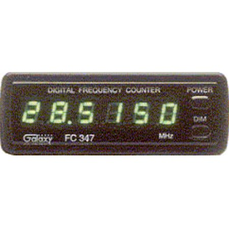 - Galaxy FREQUENCY COUNTER W/ BLUE LED FC347-BL