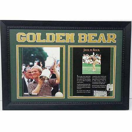 GOLF Jack Nicklaus 'Golden Bear' 12x18 Double (Jack Nicklaus Golden Bear Golf Clubs Review)