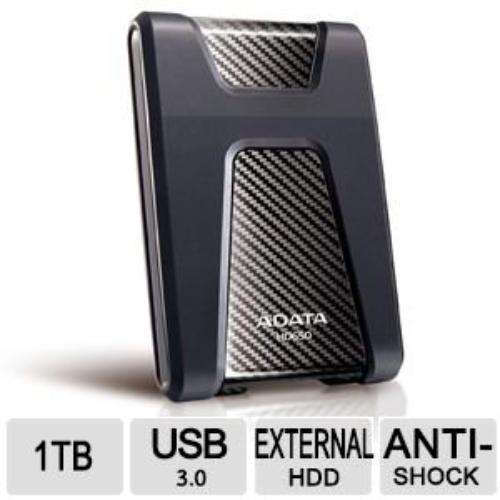 A-DATA 148921 A-data Hdd Ahd650-1tu3-cbk External 1tb 2.5...