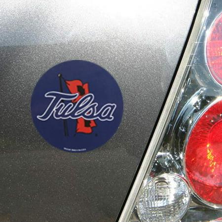 Tulsa Golden Hurricane 4'' Tier Circle Car Magnet - No Size